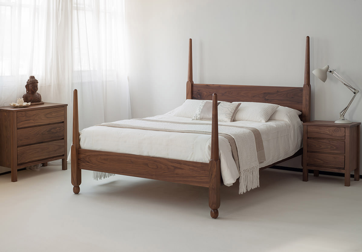 Senegal Classic Solid Wood Bed Natural Bed Company