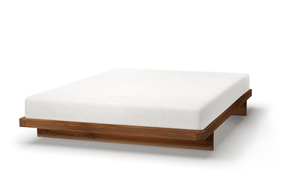 Kumo bed in walnut
