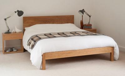 Solid oak bed - Malabar