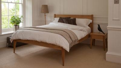 Cochin Bed - Oak
