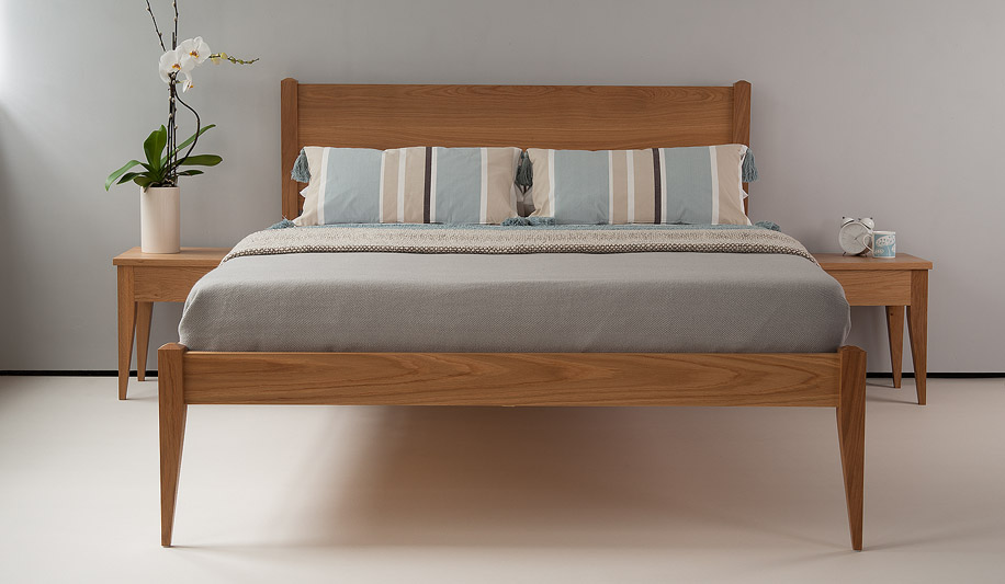 Cochin classic bed solid wood beds natural company