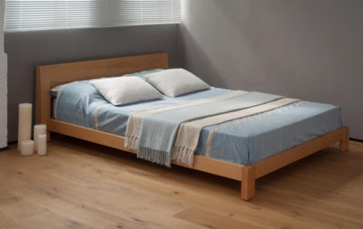 Java Beech Solid Wood Bed