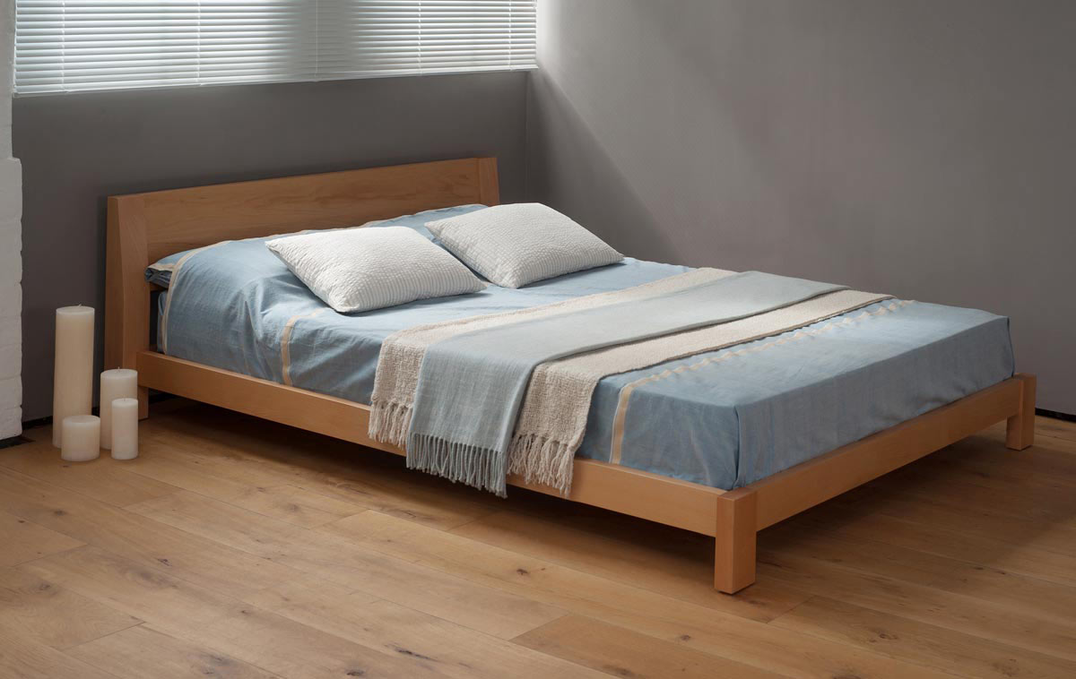 Java Low Chunky Bed Natural Bed Company