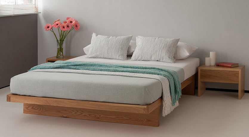 Kyoto low platform bed