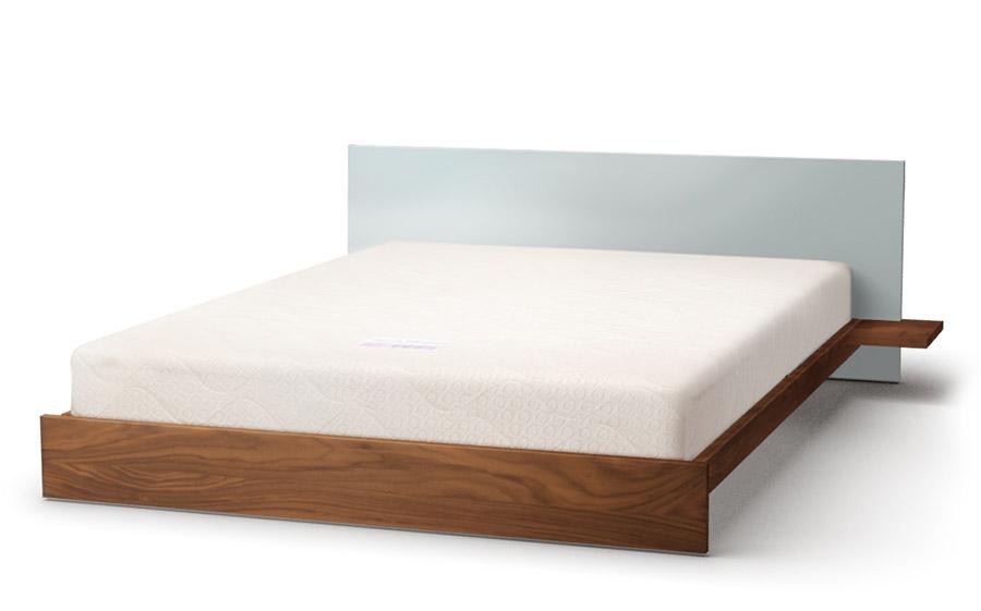 Koo bed in walnut