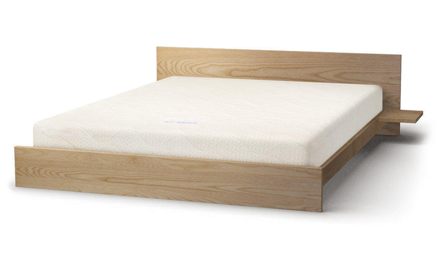 Kulu bed in ash