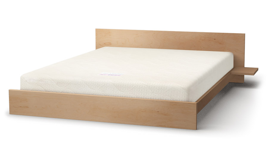 Kulu bed in maple