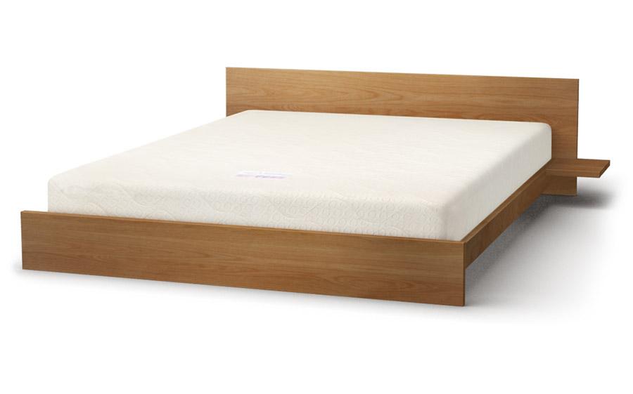 Kulu bed in oak