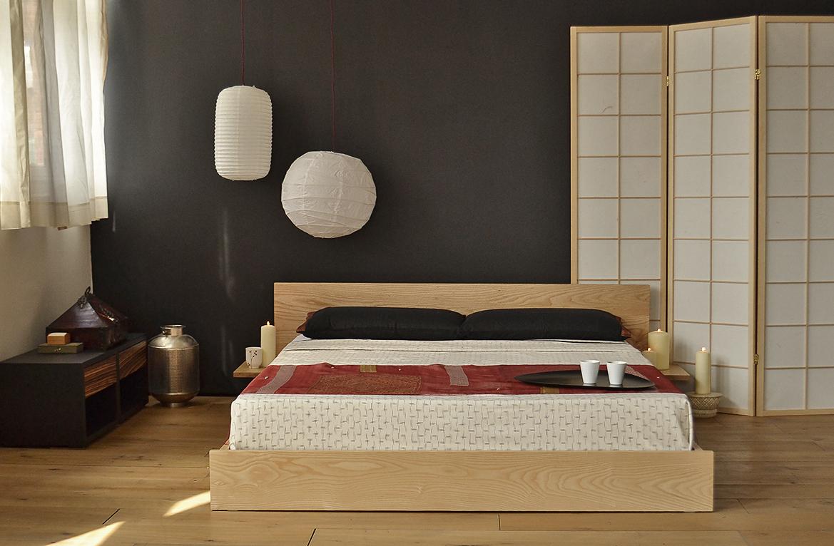 low oriental beds