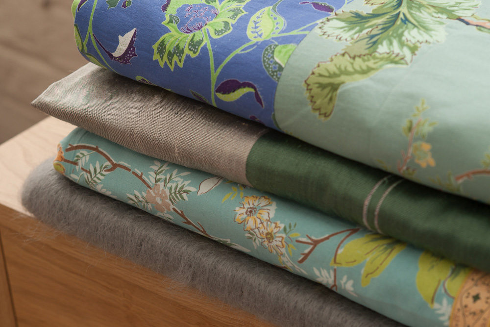 Indian fabric duvet covers and quilts