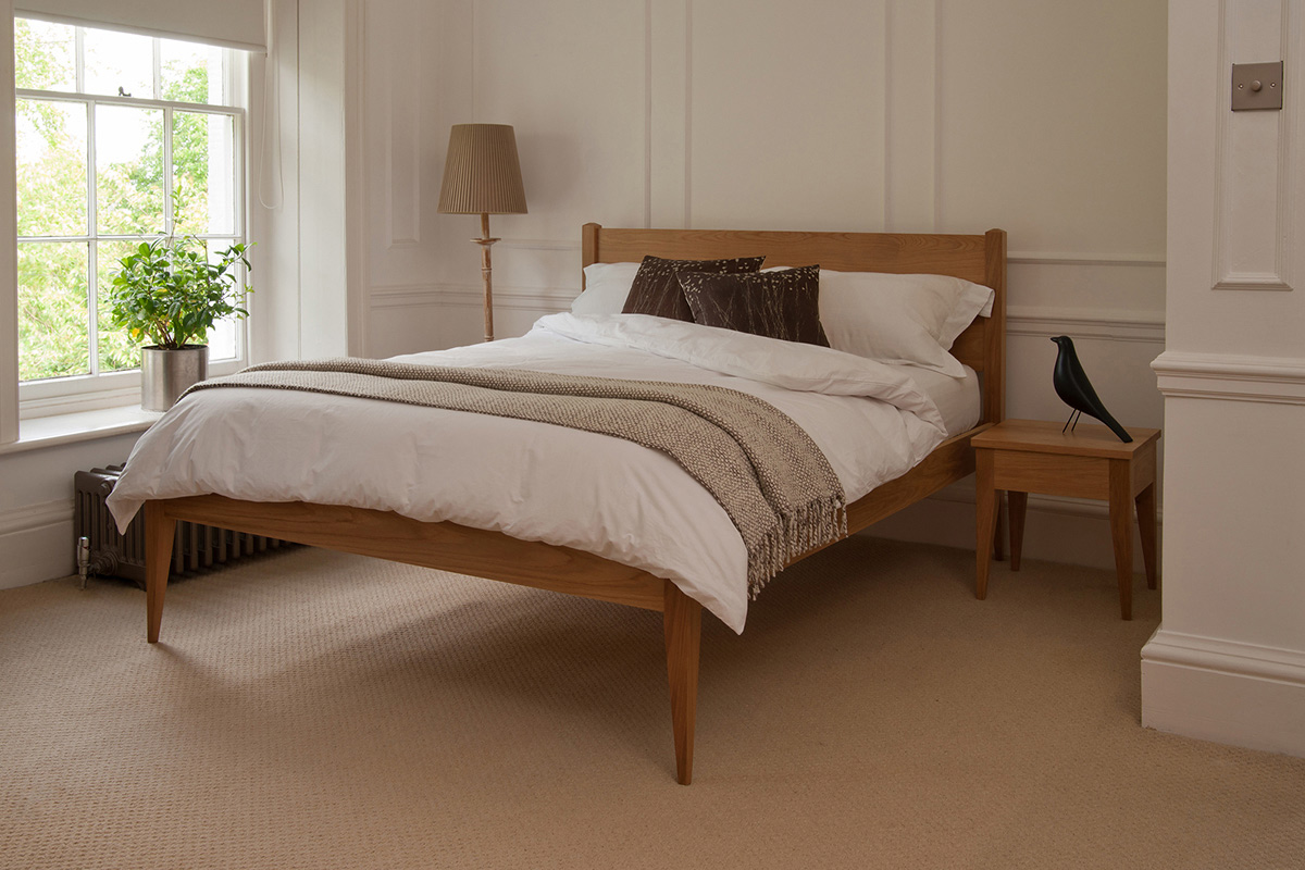 Cochin Classic Bed Solid Wood Beds Natural Bed Company