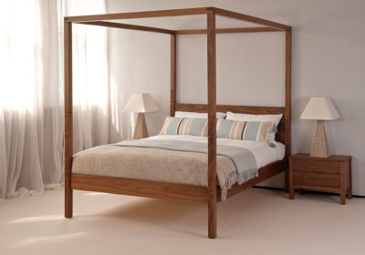 orchid contemporary four poster bbed