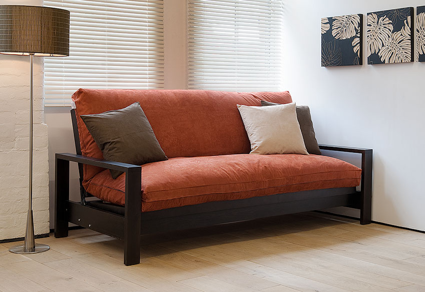 Cuba double futon sofa bed