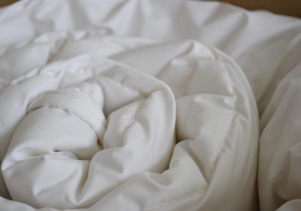 Wool filled duvet