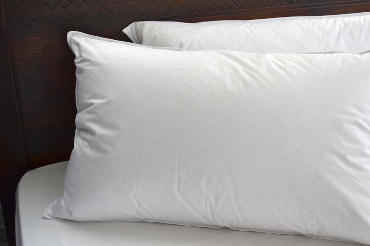feather and down pillows