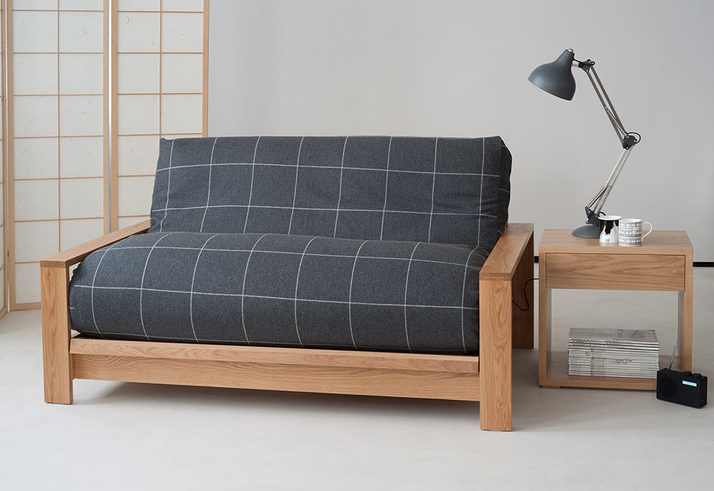 Futon Loose Covers In Wool Sofa Beds Natural Bed Company