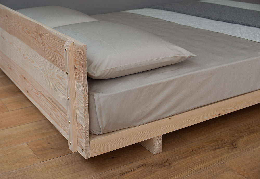 The Ultra Low Beds Collection | Natural Bed Company