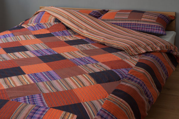 Madras Check Duvet Cover