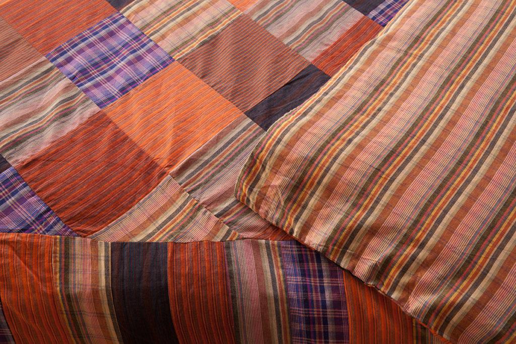 Madras Check Duvet Cover