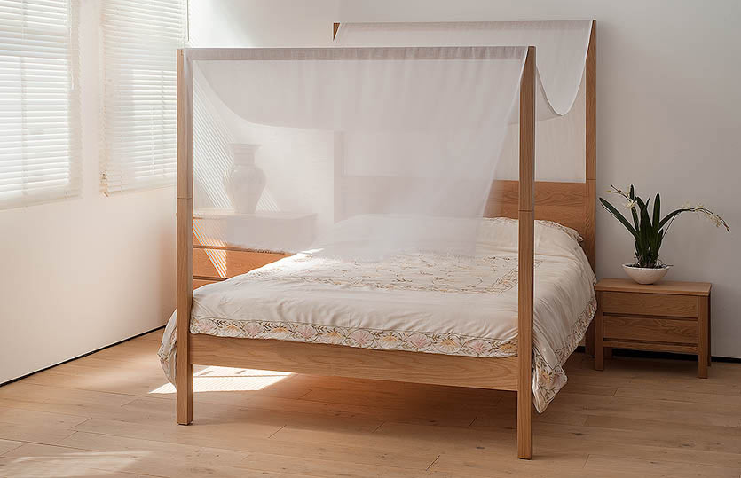 Modern 4 Poster Bed choosing a modern four poster bed | blog | natural bed company