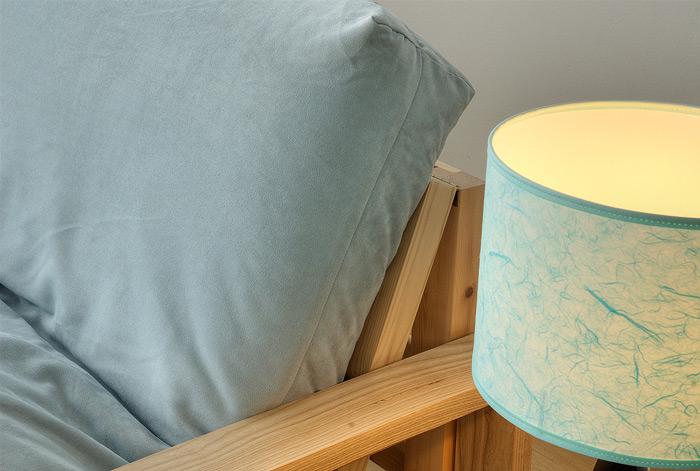 Removable futon cover