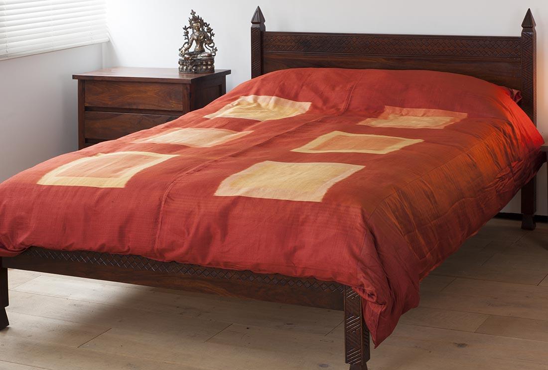 Shop Bedding Indian Cotton And Silk Duvet Covers Kalamkari