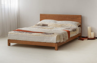 Sonora low wooden bed