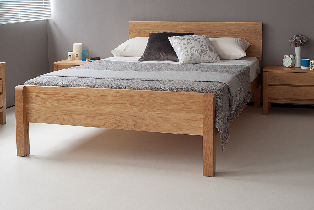 Tibet Solid Wood Bed Natural Bed Company