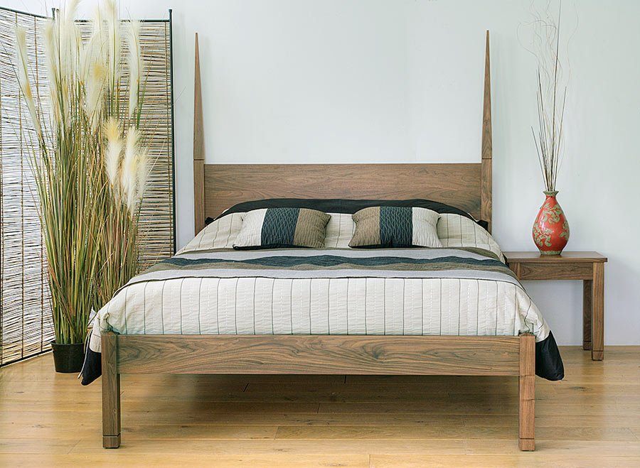 togo pencil headboard wooden bed