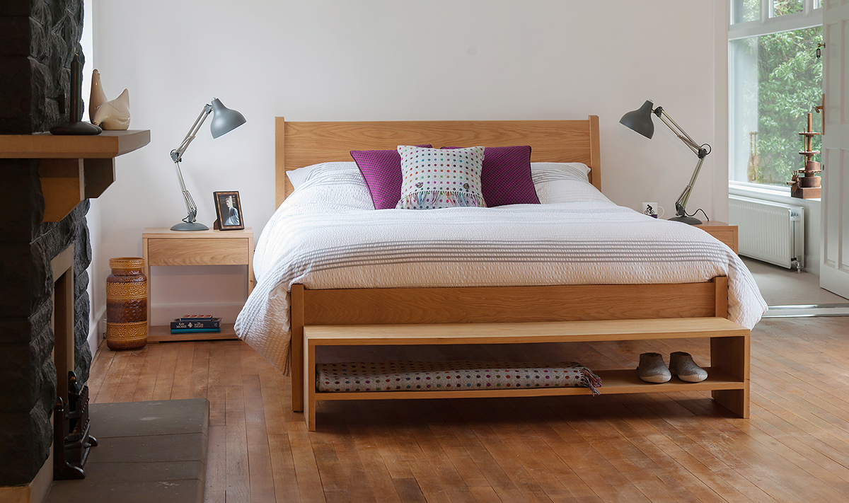 Solid Wood Bedroom Furniture Collection Natural Bed Company