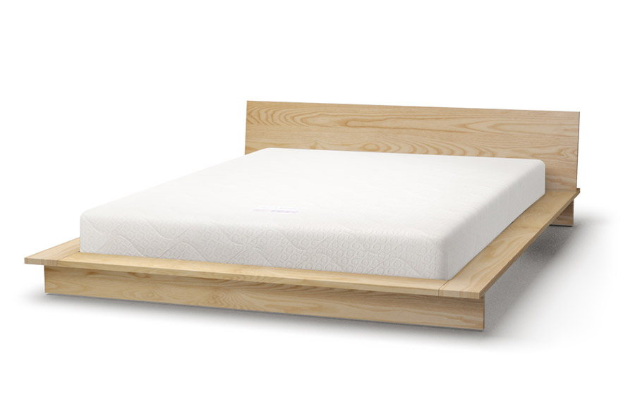 Oregon platform bed in maple
