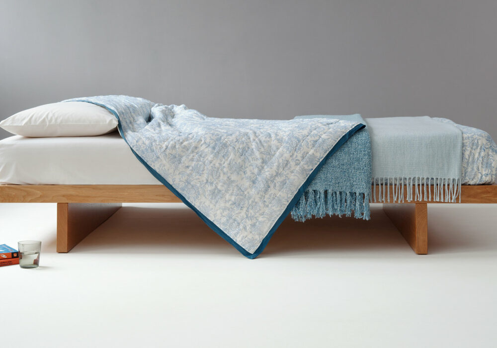 Our Japanese style Kyoto Bed comes with or without a headboard and in a range of bed sizes
