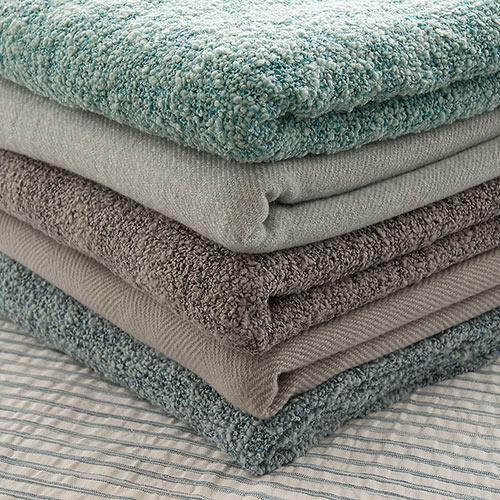 linum wool bed throws