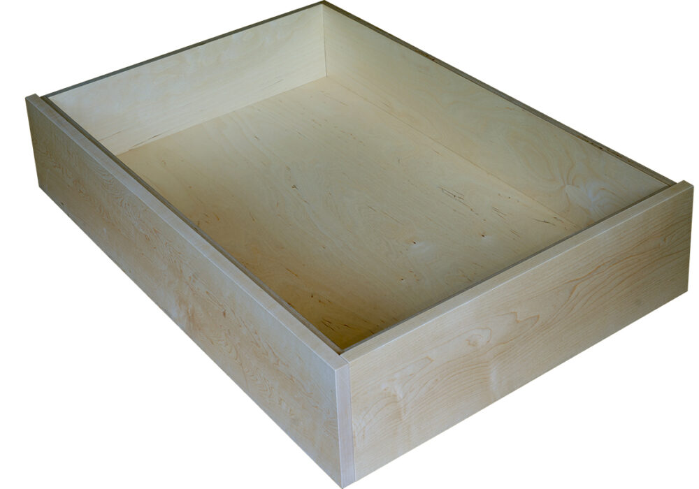 maple-underbed-drawer with side panel