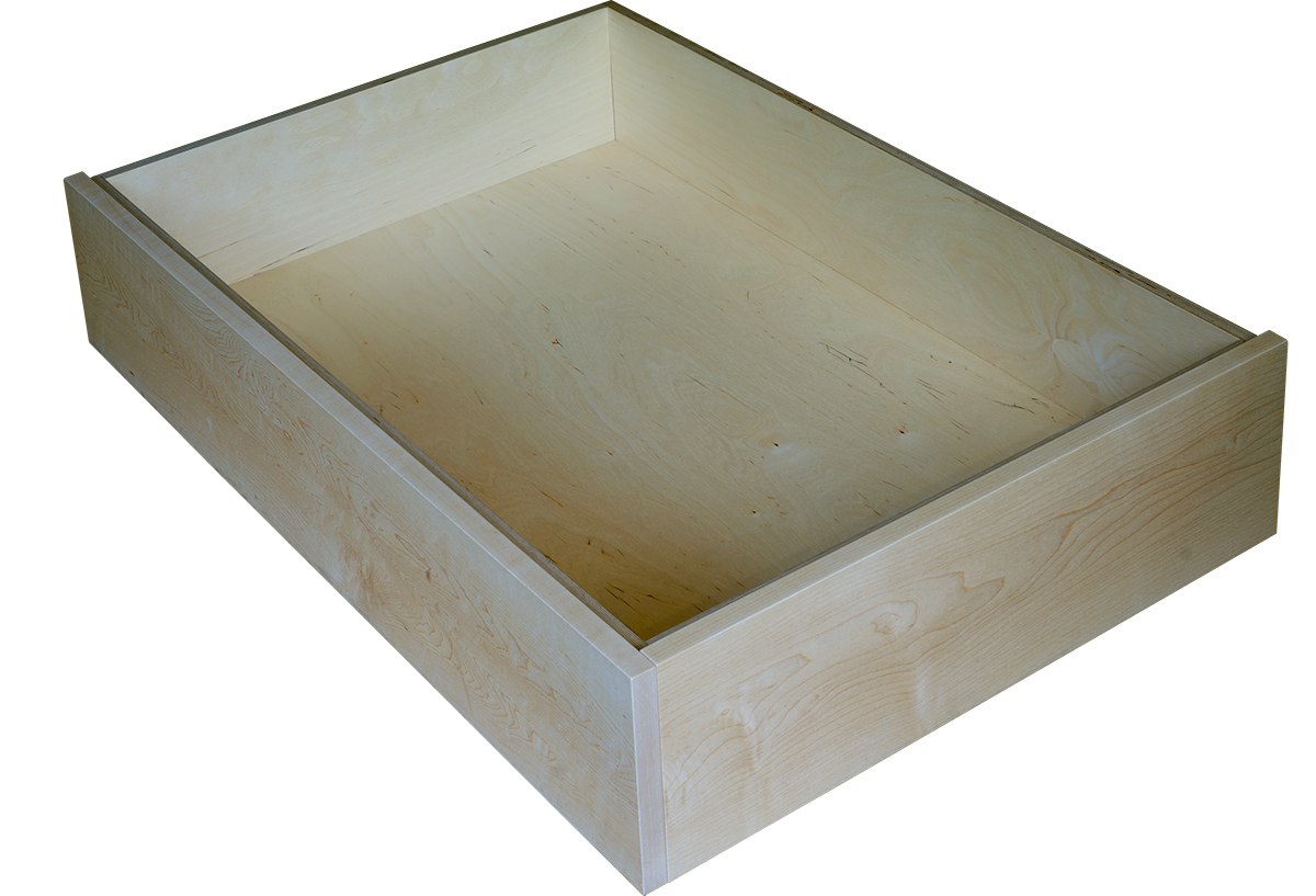 Maple Underbed Drawer With Side