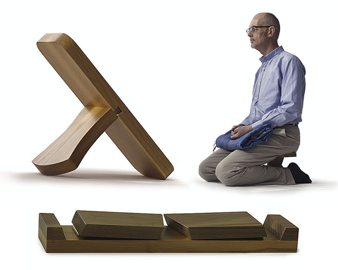 Meditation Stools Solid Wood Natural Bed Company