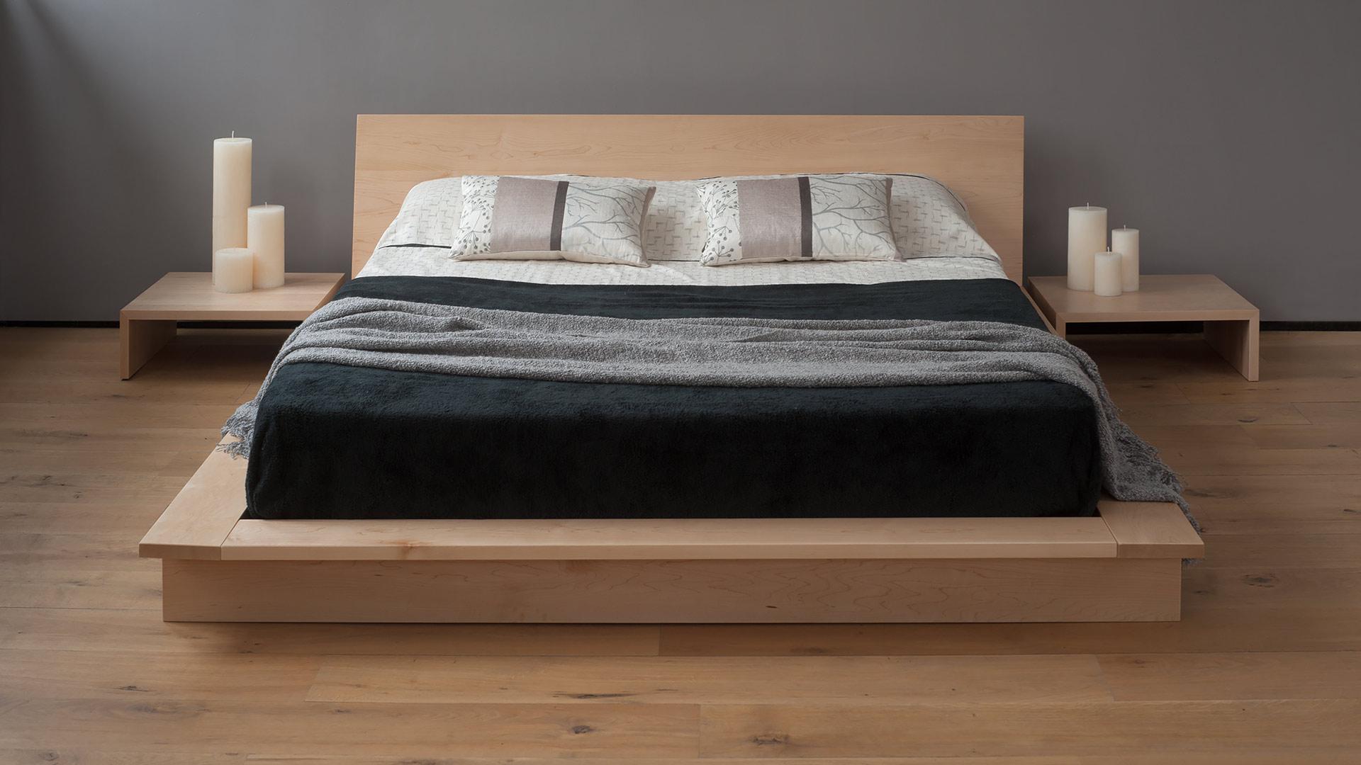 oregon platform bed - Platform Frame Bed