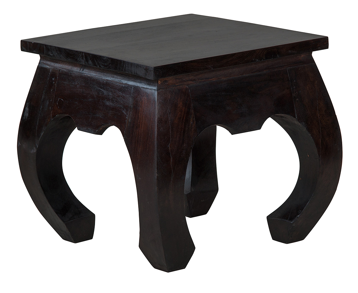 Opium Indian Bedside Table Natural Bed Company