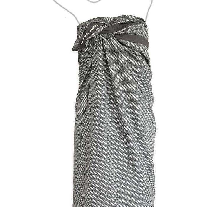 GOTS and Soil Association certified 100% organic cotton Scandinavian wrap towel