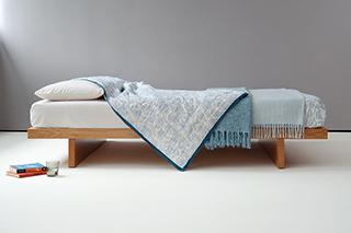 Kyoto oak bed