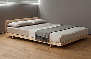 kobe low pine bed
