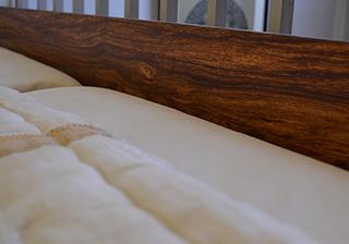 Unique Exotic hardwood Nevada bed