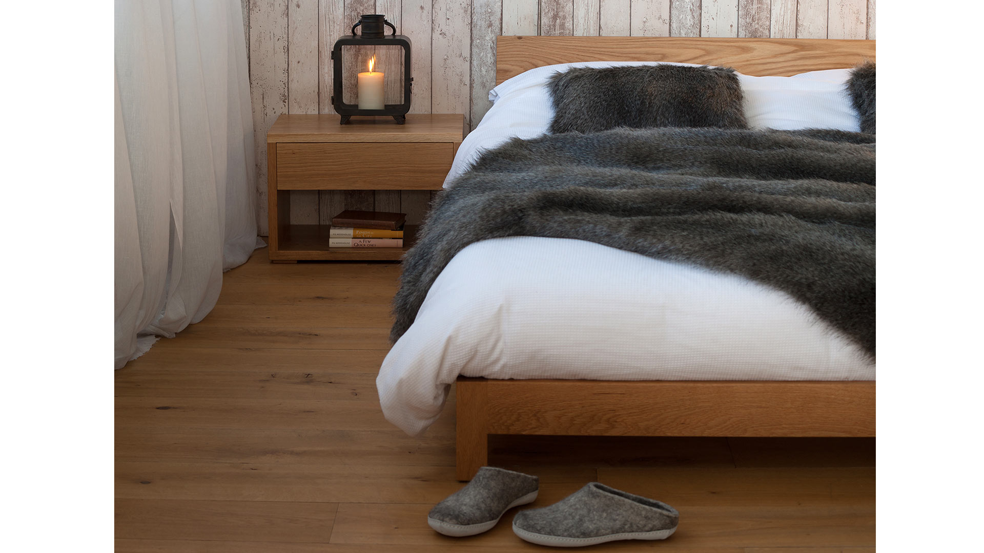 Scandinavian Style Bedrooms Inspiration Natural Bed