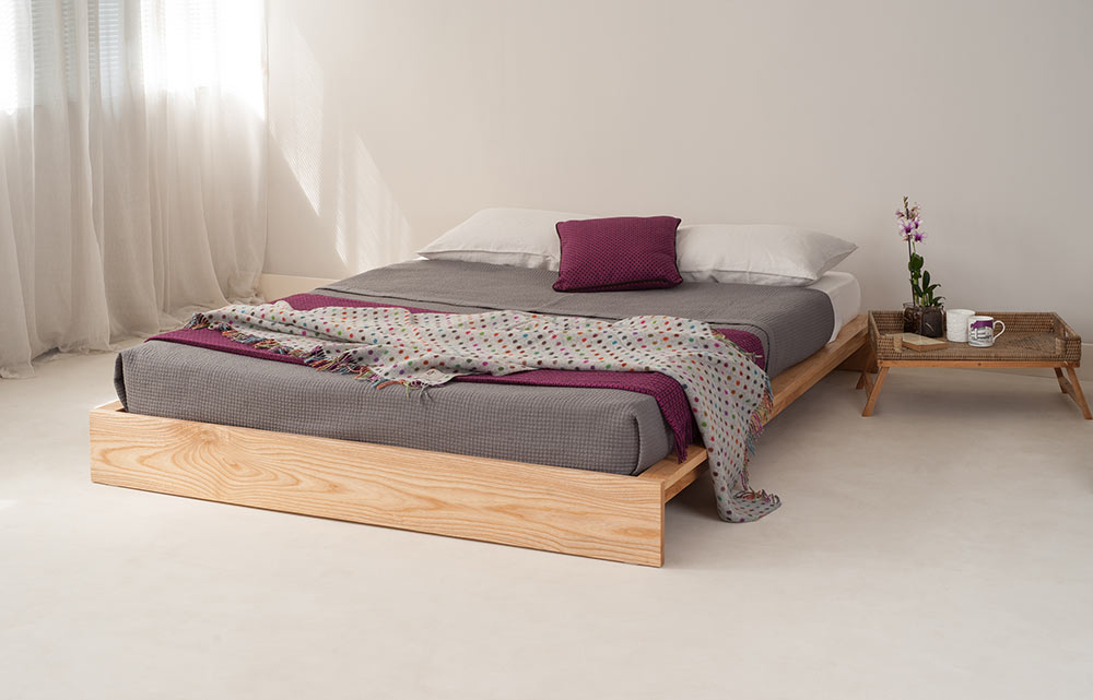 scandinavian style bedrooms | inspiration | natural bed company
