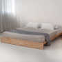 ki solid wood bed