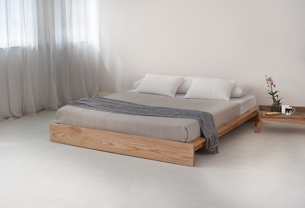 Ki low loft beds wooden beds natural bed company - Japanese bed frame designs ...
