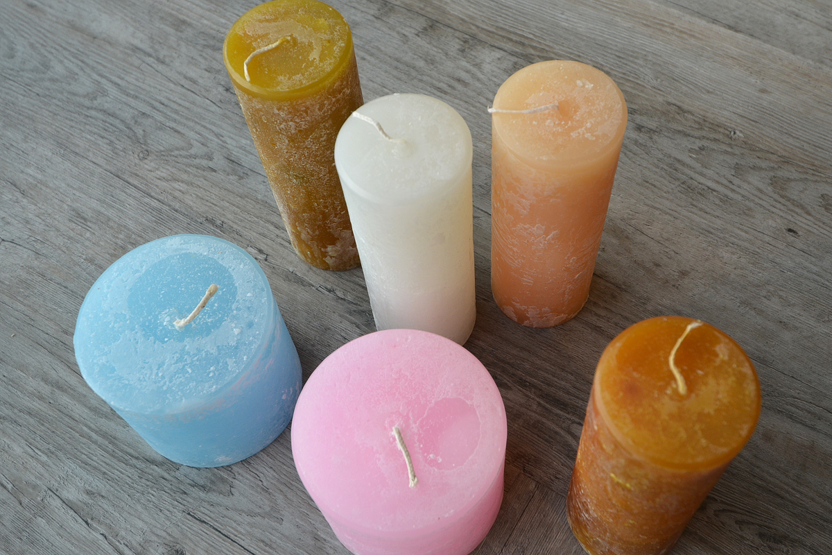 melt scented candles - mixed