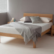 tibet modern bed in oak 1200x800