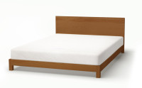 Sonora bed in antique pine stain