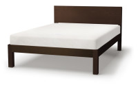 Tibet bed in wenge stain pine